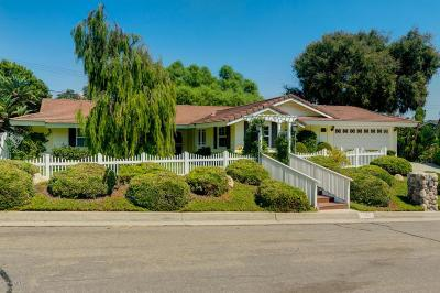 Ventura Single Family Home For Sale: 1242 Sunnycrest Avenue