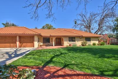 Simi Valley Single Family Home For Sale: 5083 Leeds Street