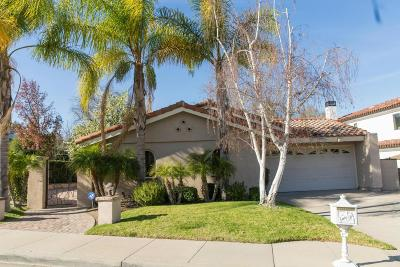 Westlake Village Single Family Home For Sale: 2351 Topsail Circle