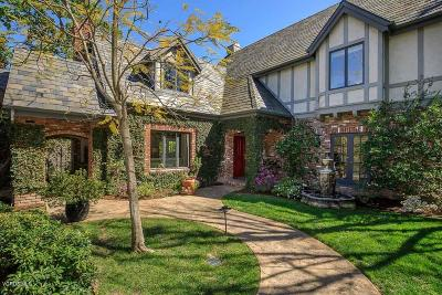 Westlake Village Single Family Home For Sale: 5600 Lakeview Canyon Road