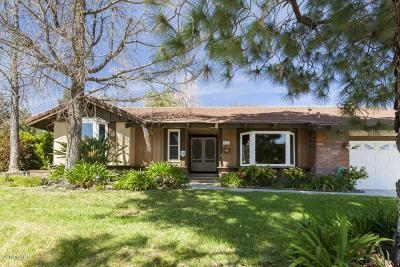 Simi Valley Single Family Home For Sale: 1711 Meander Drive