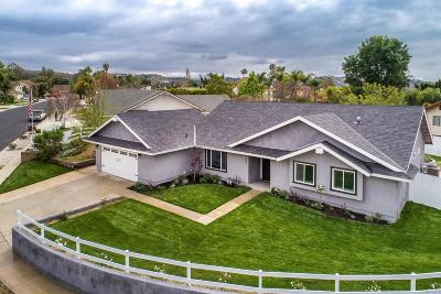 Moorpark Single Family Home For Sale: 4589 Vista Del Valle Drive