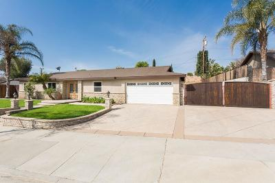Simi Valley Single Family Home For Sale: 3419 Travis Avenue