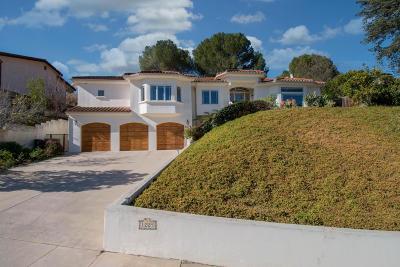 Thousand Oaks Single Family Home For Sale: 1225 Calle Las Trancas