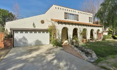 Agoura Hills Single Family Home For Sale: 5451 Colodny Drive