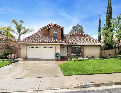 Moorpark Single Family Home For Sale: 4345 Country Meadow Street