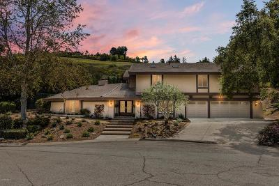 Westlake Village Single Family Home Sold: 1478 Kingston Circle