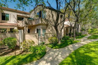 Westlake Village Condo/Townhouse For Sale: 229 Via Colinas