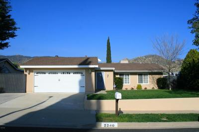 Simi Valley Single Family Home For Sale: 2240 Dora Court