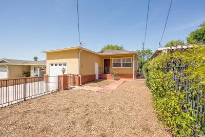 Thousand Oaks Single Family Home For Sale: 603 Irving Drive
