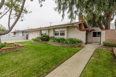 Camarillo Single Family Home For Sale: 1076 Gracia Street