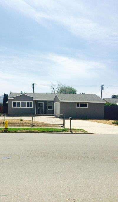Simi Valley Single Family Home For Sale: 2690 East Brower Street