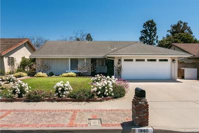 Ventura Single Family Home For Sale: 1880 Fulmar Avenue