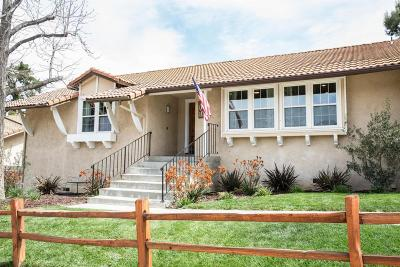 Simi Valley Single Family Home For Sale: 1137 Rambling Road