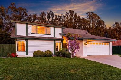 Camarillo Single Family Home For Sale: 2262 Klamath Drive