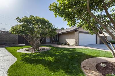 Camarillo Single Family Home For Sale: 1692 Lyndhurst Avenue