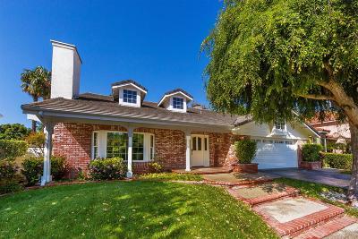 Agoura Hills Single Family Home For Sale: 5809 Woodglen Drive