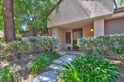 Westlake Village Condo/Townhouse For Sale: 1129 Via Colinas
