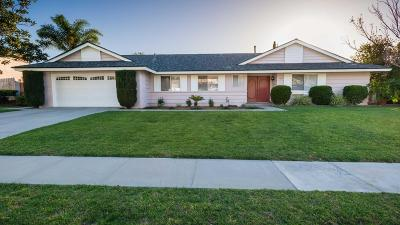 Thousand Oaks Single Family Home For Sale: 1212 Uppingham Drive
