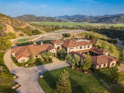 Thousand Oaks Single Family Home For Sale: 1601 West Potrero Road