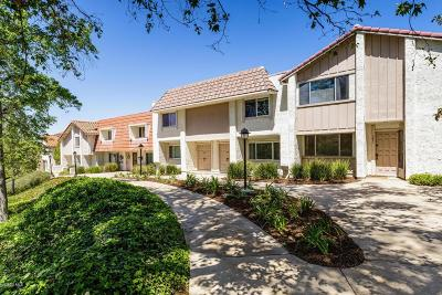 Thousand Oaks Condo/Townhouse For Sale: 283 Green Heath Place
