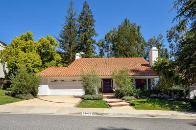 Agoura Hills Single Family Home For Sale: 29455 Fountainwood Street