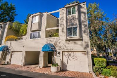 Westlake Village Condo/Townhouse For Sale: 1166 South Westlake Boulevard #D