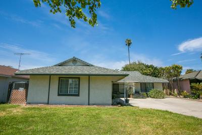 Ventura Single Family Home For Sale: 5351 Lafayette Street