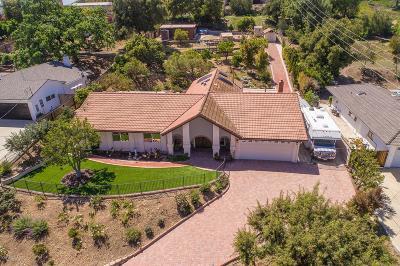 Thousand Oaks Single Family Home For Sale: 1049 Calle Las Trancas