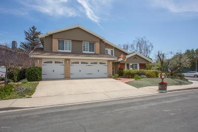 Thousand Oaks Single Family Home For Sale: 3300 Pagent Court