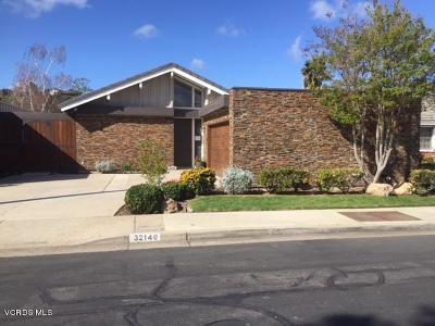 Westlake Village Single Family Home For Sale: 32140 Oakshore Drive