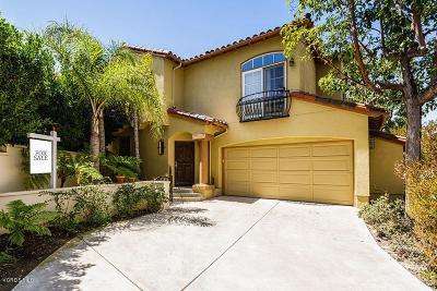 Camarillo Single Family Home For Sale: 1127 Corte Riviera