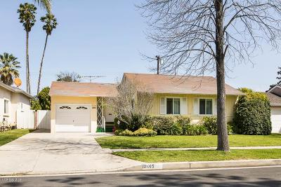 Encino Single Family Home For Sale: 18015 Collins Street