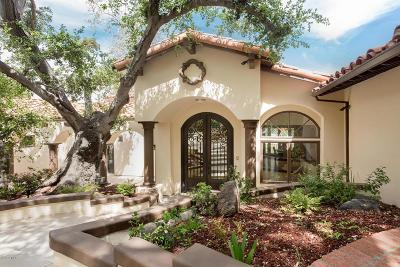 Westlake Village Single Family Home For Sale: 31649 Saddletree Drive