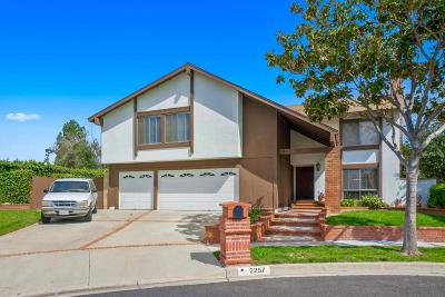 Simi Valley Single Family Home For Sale: 2257 Lansdale Court