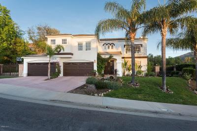 Agoura Hills Single Family Home For Sale: 29816 Westhaven Drive