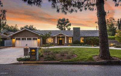 Thousand Oaks Single Family Home For Sale: 1009 Jeannette Avenue