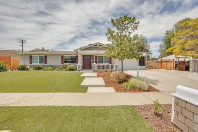 Thousand Oaks Single Family Home For Sale: 1129 Burtonwood Avenue