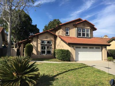 Camarillo Single Family Home For Sale: 5323 Butterfield Street