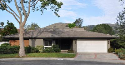 Westlake Village Single Family Home For Sale: 1641 Trafalgar Place
