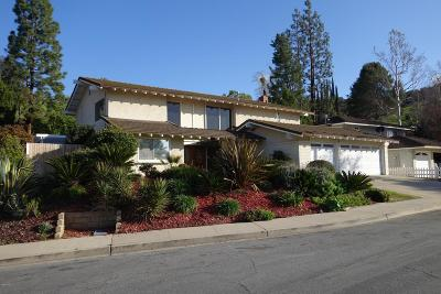 Westlake Village Single Family Home For Sale: 1660 Aspenwall Road