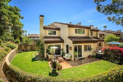 Thousand Oaks Condo/Townhouse For Sale: 1559 Holly Court