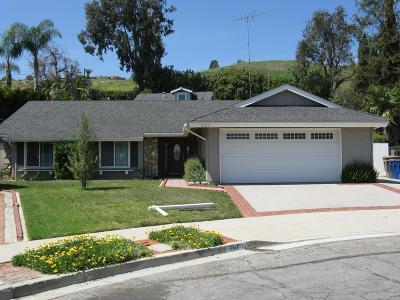 Ventura Single Family Home For Sale: 461 Brevard Avenue