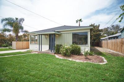 Ventura Single Family Home For Sale: 309 Walnut Drive