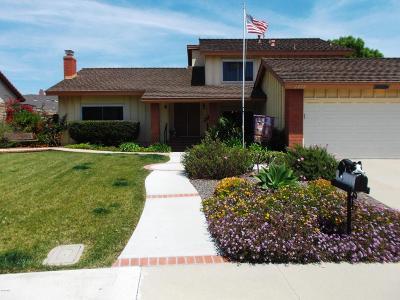 Camarillo Single Family Home For Sale: 2212 Via Del Suelo