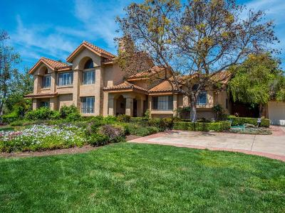 Thousand Oaks Single Family Home For Sale: 3680 Via De Costa