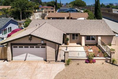Simi Valley Single Family Home For Sale: 2610 North Broadmoor Avenue