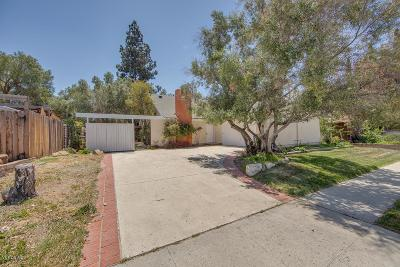 Simi Valley Single Family Home For Sale: 2468 East Woodrow Avenue