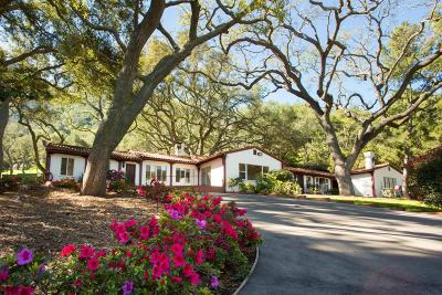 Westlake Village Single Family Home For Sale: 1688 Hidden Valley Road Valley