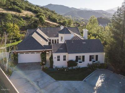 Westlake Village Single Family Home For Sale: 1686 Sycamore Canyon Drive